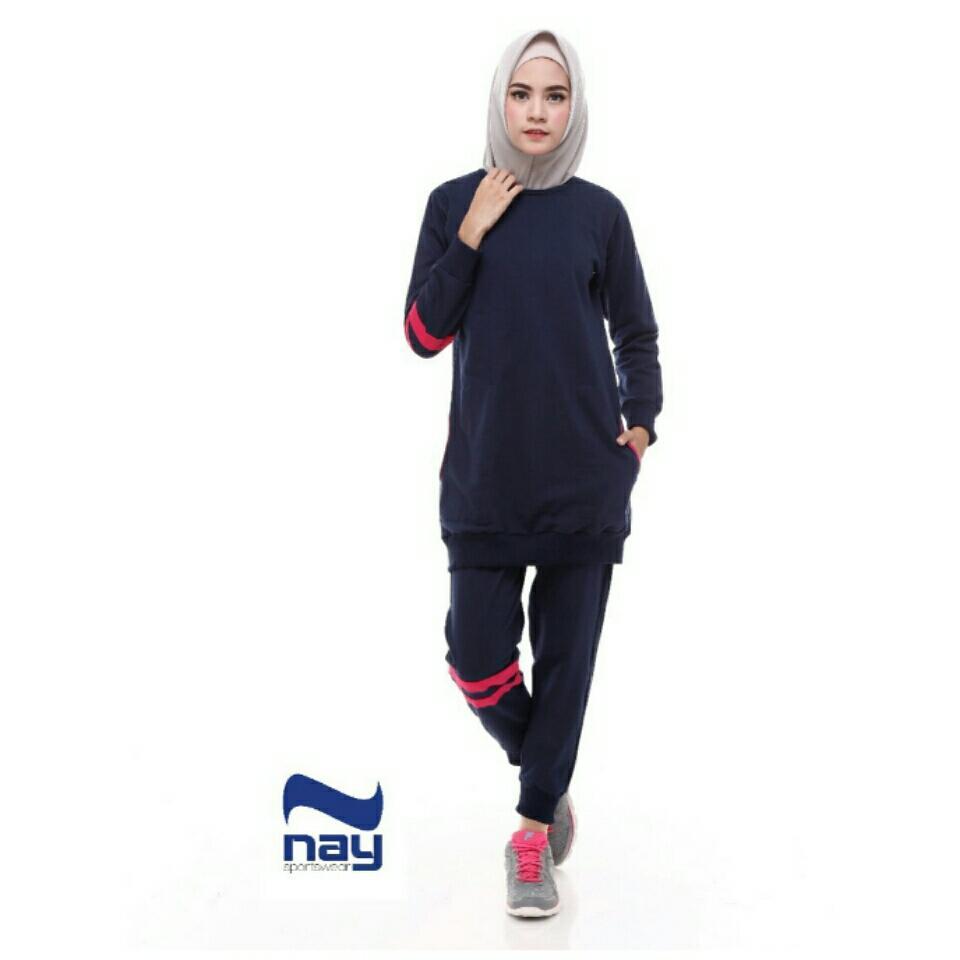 Baju Senam Olahraga Muslimah Kanaya Sport