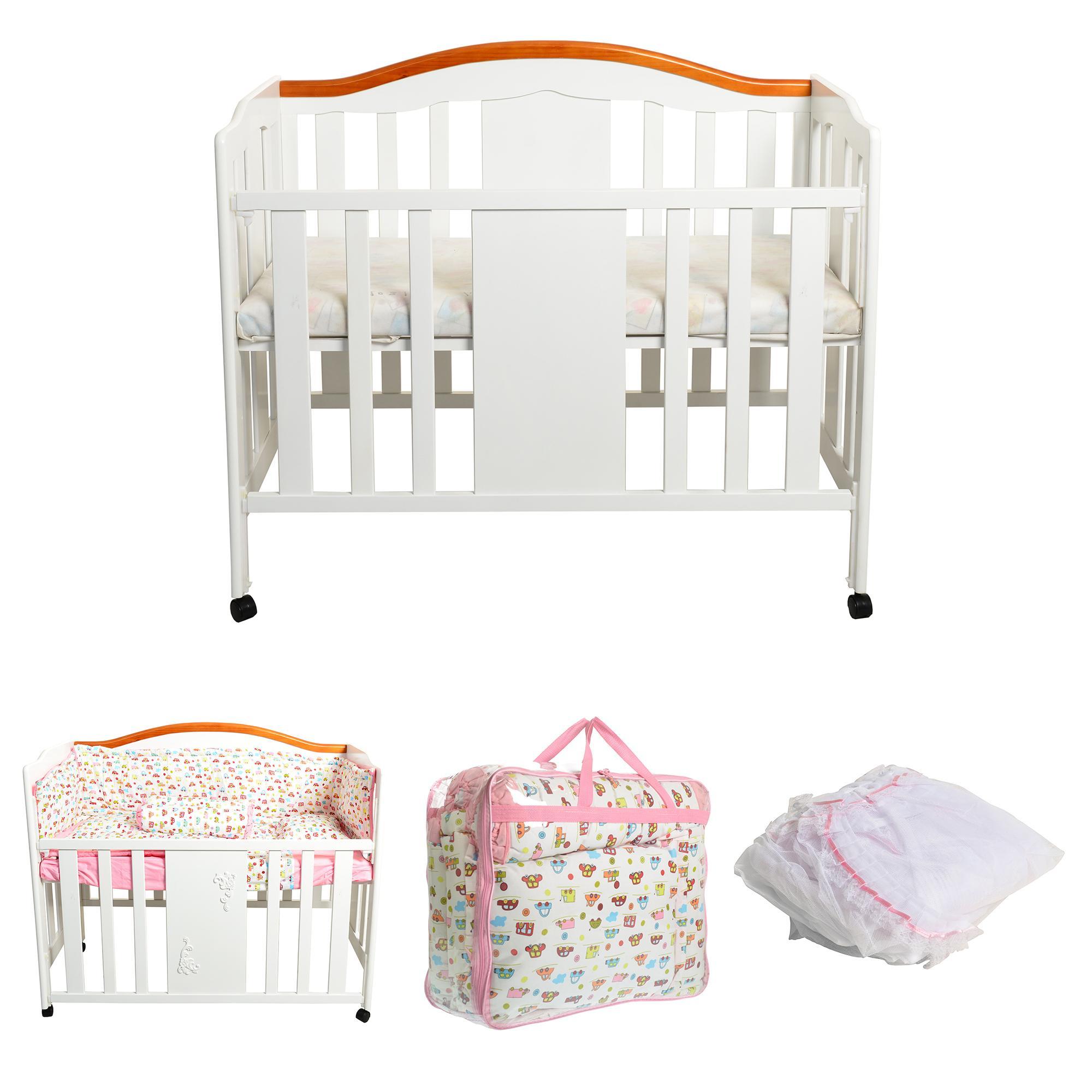 Baby Box Hakari 099 white ( PAKET CARSPINK Pink)