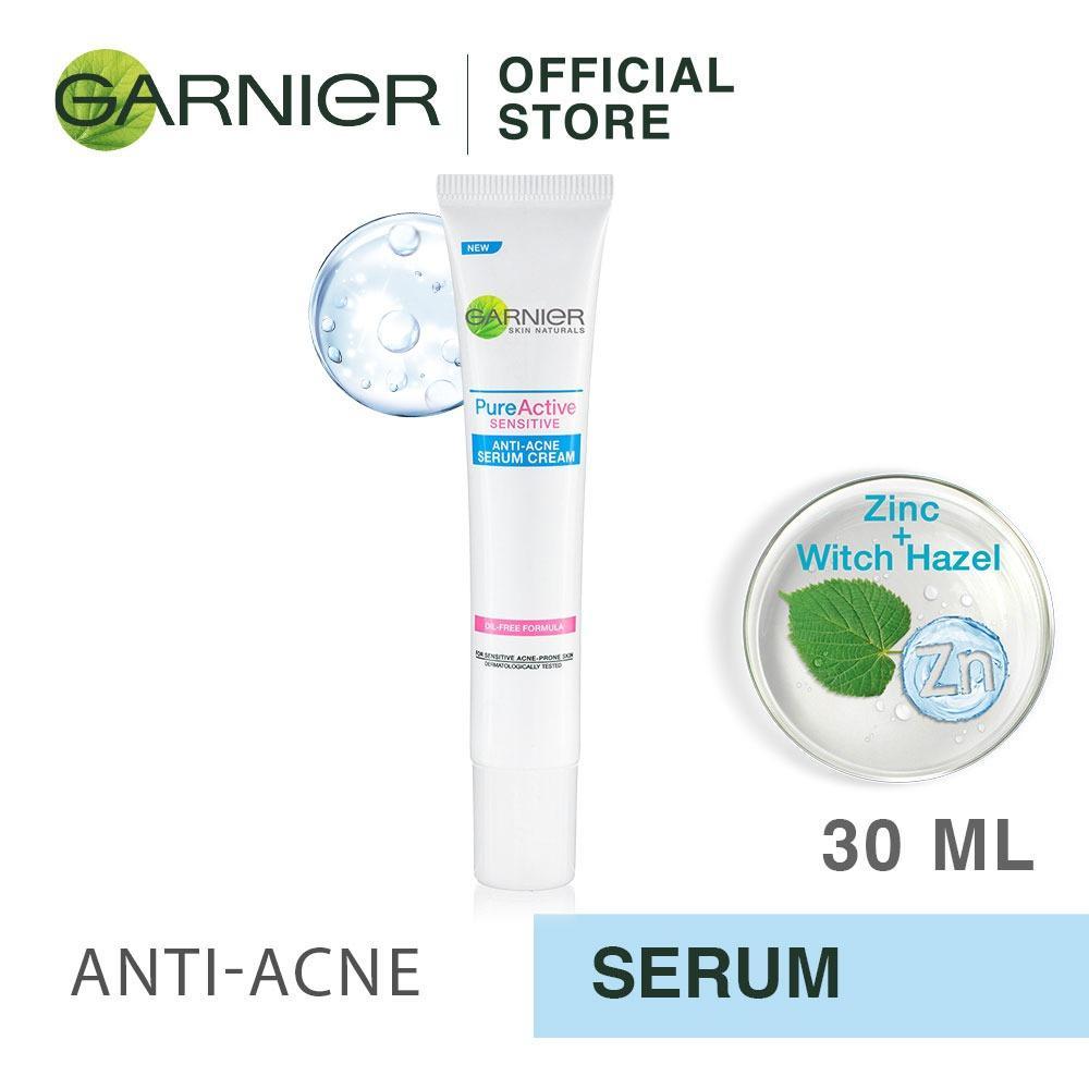 Garnier Pure Active Sensitive Anti-Acne Serum Cream - 30 ml