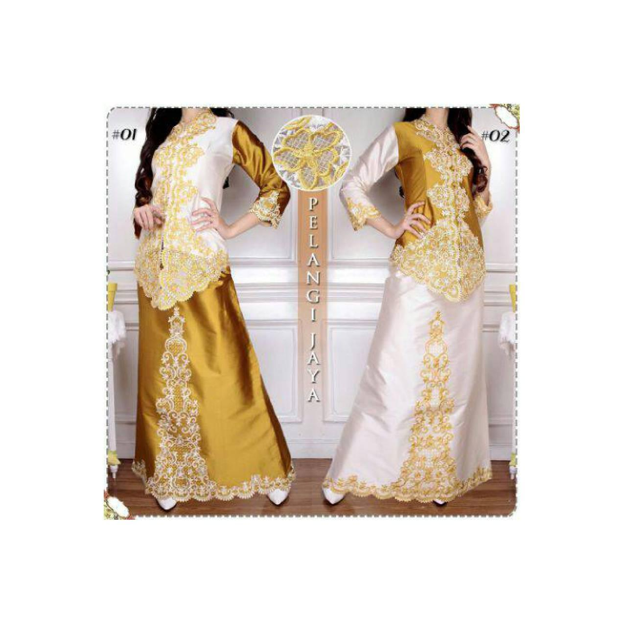 Abaya Baju Kebaya Modern Busana Wanita Gaun Pesta Muslim Gamis