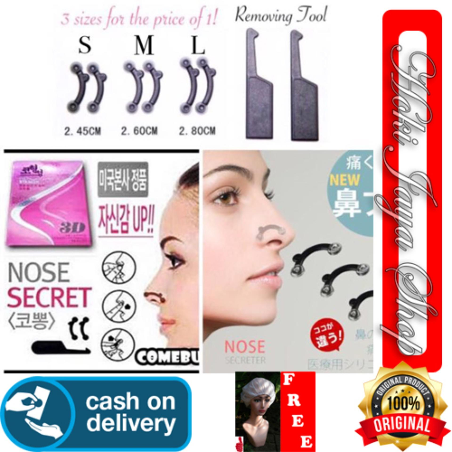 HOKI COD - SECRET NOSE 3D Alat Pemancung Hidung instant 3D/Nose Scret Korea/