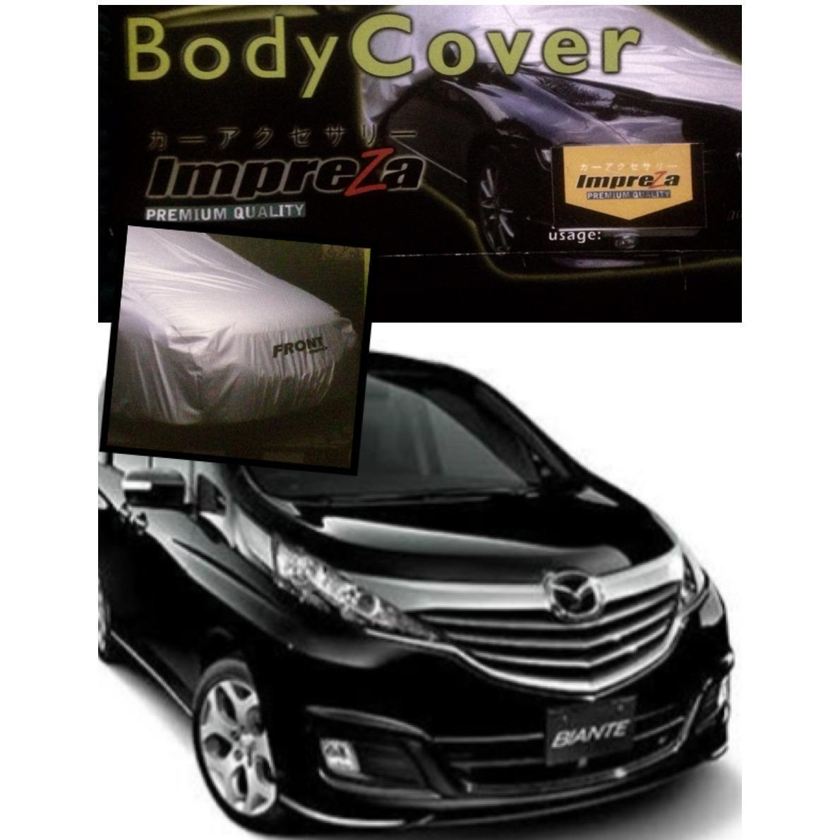 Impreza Body Cover Mobil Mazda Biante Abu Daftar Update Harga Blue Silver Selimut Deluxe Anti Air Waterproof Terlaris Grey Pelindung