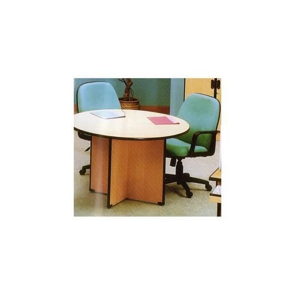 Meja Meeting Kantor / Meja Rapat Bundar Glory GD 1212