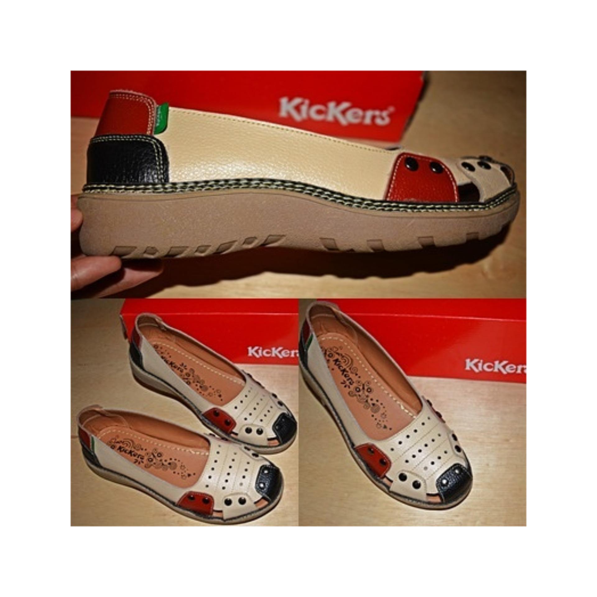 Sepatu Kickers Wanita Kulit