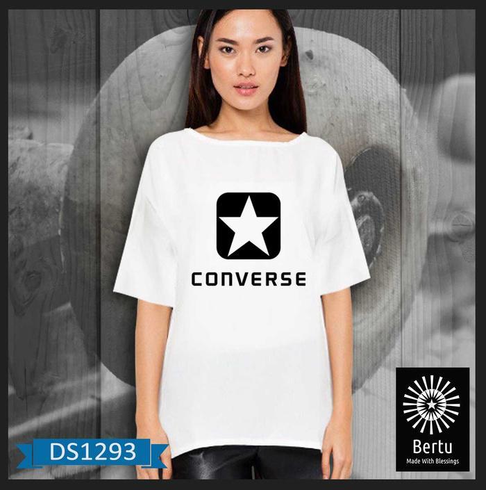 Jual Kaos Cewe Big Size All Converse Kode : DS1293
