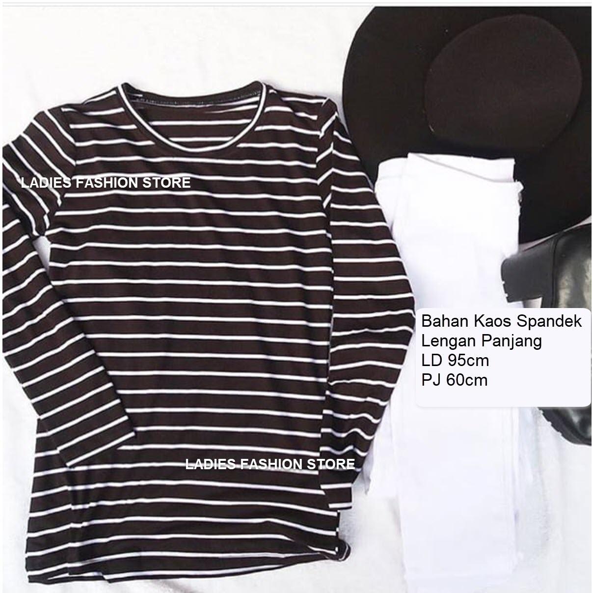 Buy Sell Cheapest Tunik Murah Atasan Best Quality Product Deals Baju Muslim Wanita Kaos Lengan Panjang