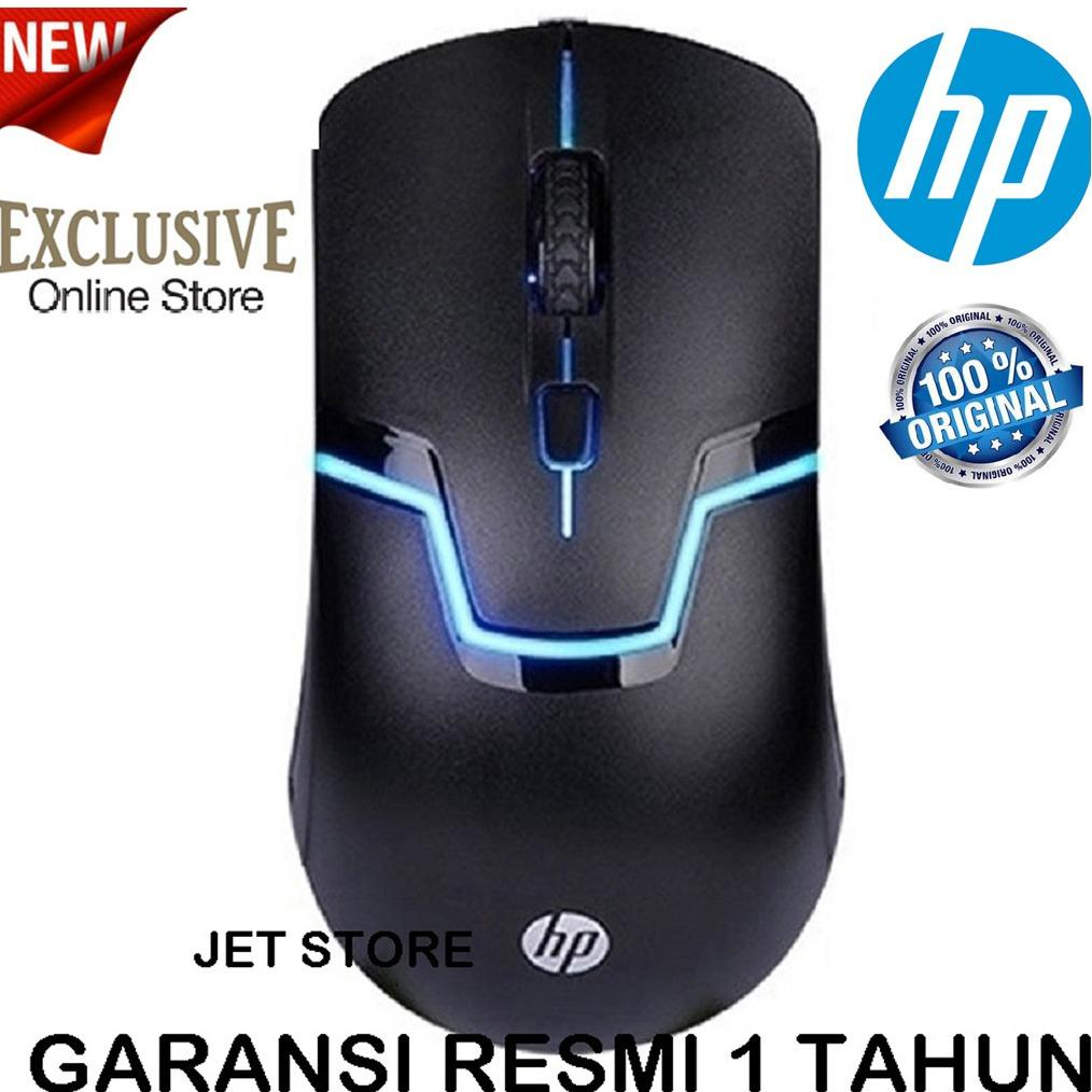 Hp Gaming Mouse M100 7 Led - Hitam. By Jet Store.