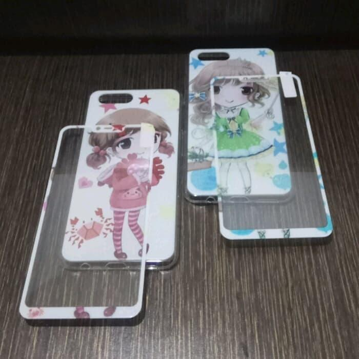 TEMPERED GLASS. Source · OPPO A3S CASE 360 FULL PROTECT KOREAN GIRLS .