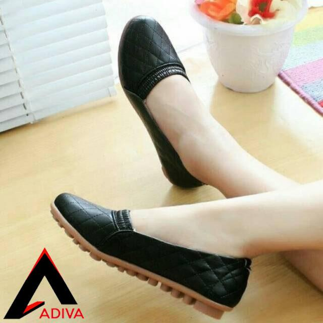 ADIVA Flat Shoes / Sepatu Wanita Slip On CH01 / Sepatu Cewek Santai