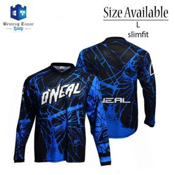 Pencarian Termurah Baju kaos jersey sepeda ONEAL / Jersey baju motor cross sale - Hanya Rp84