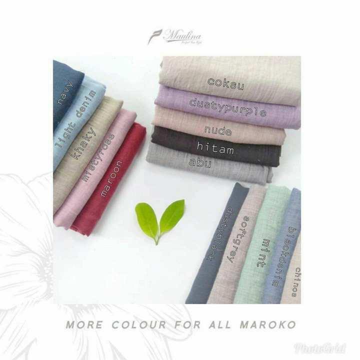 Hijab Jilbab Muslim Khimar Instant SALLY Button Platinum Paris Premium by Rumah Maulina