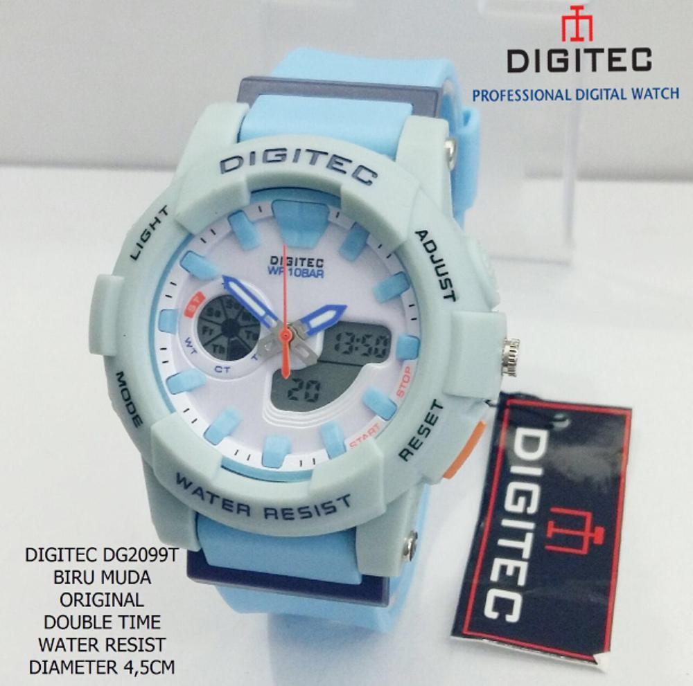 Digitec  Baby G DG2099T Jam Tangan Dualtime Wanita