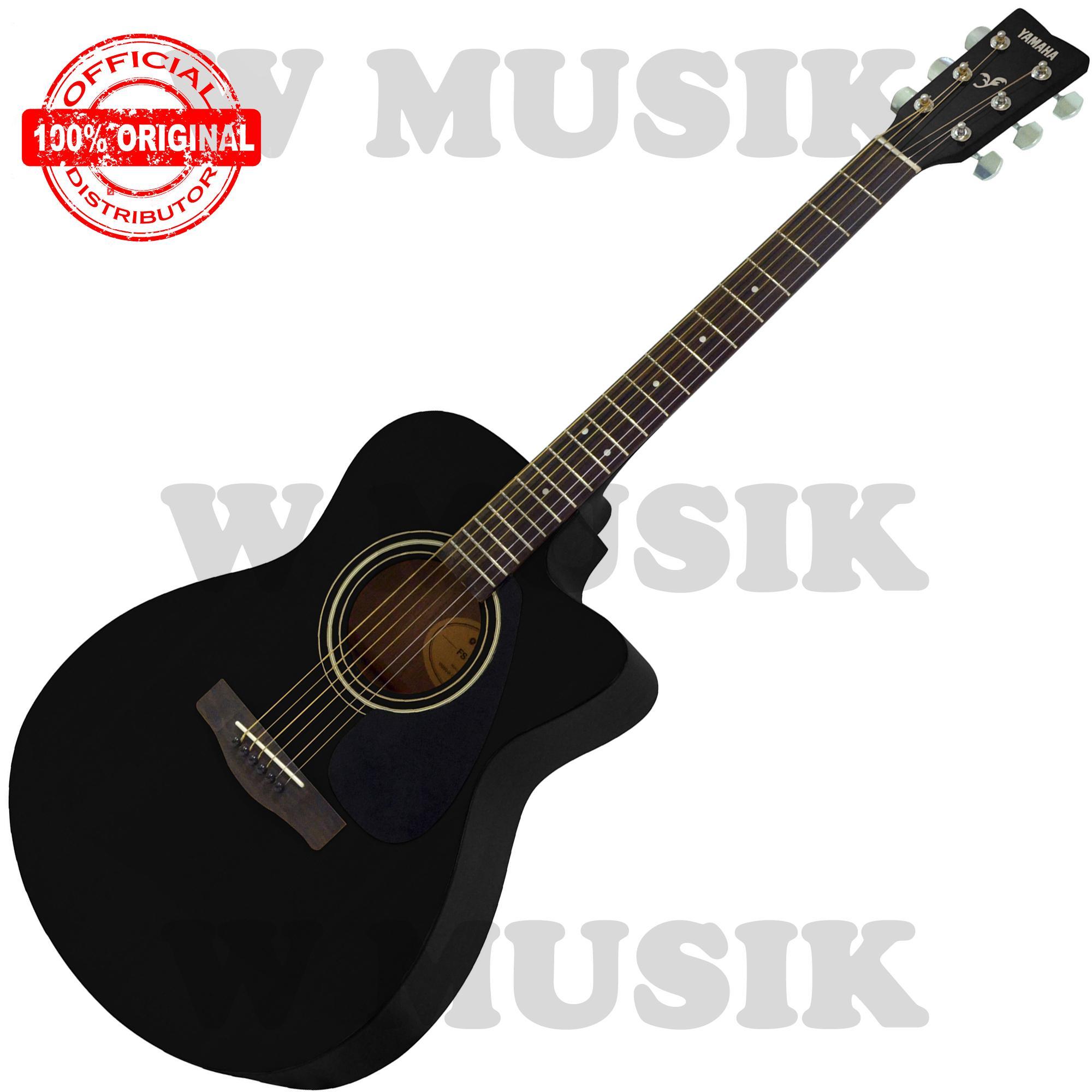 Yamaha Gitar Akustik Folk FS 100 C / FS100C / FS 100C / FS100BL - Hitam