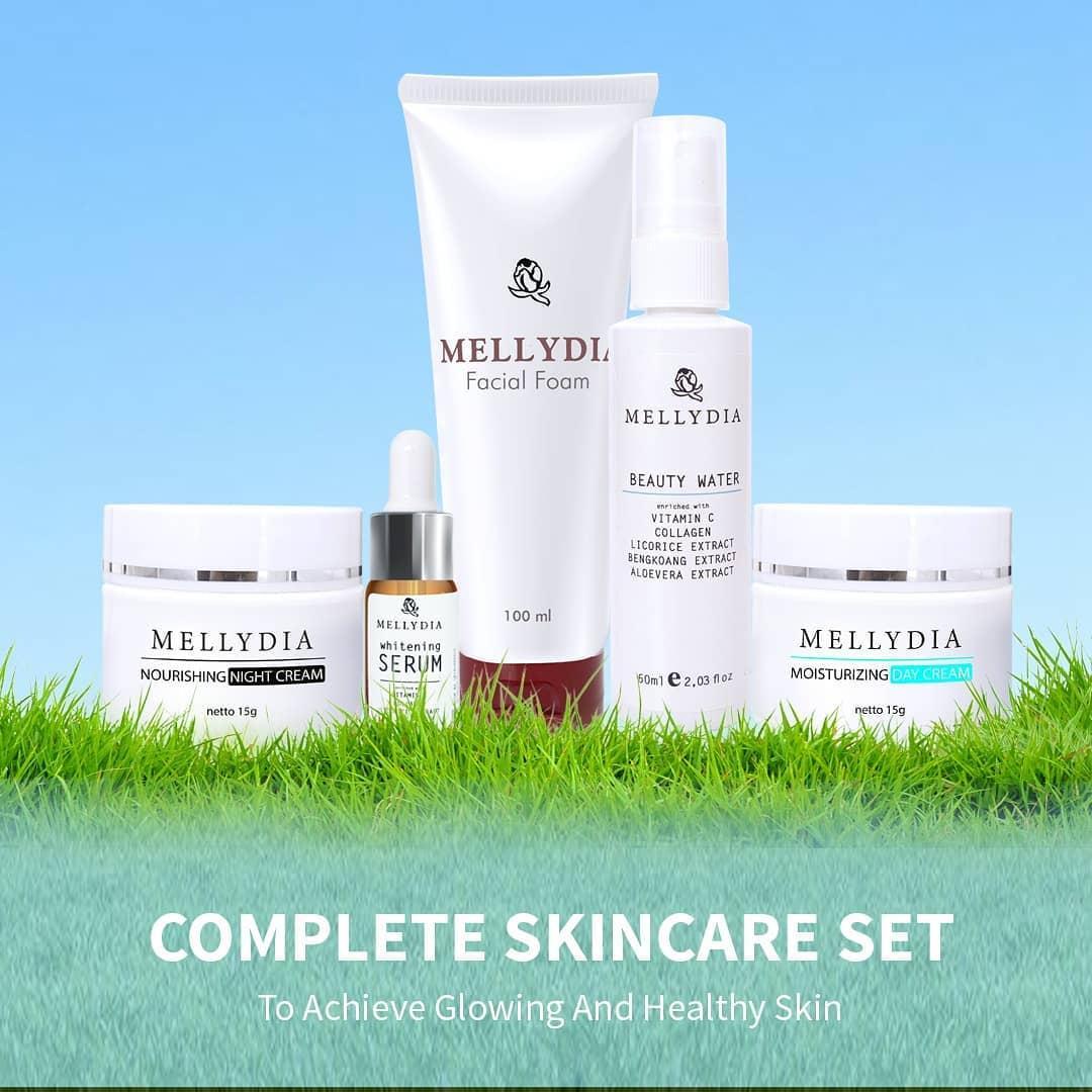 Paket Komplit Pemutih Wajah Cerah Sempurna Anti Flek Dan Aging Aman dan Efektif Untuk Semua Jenis