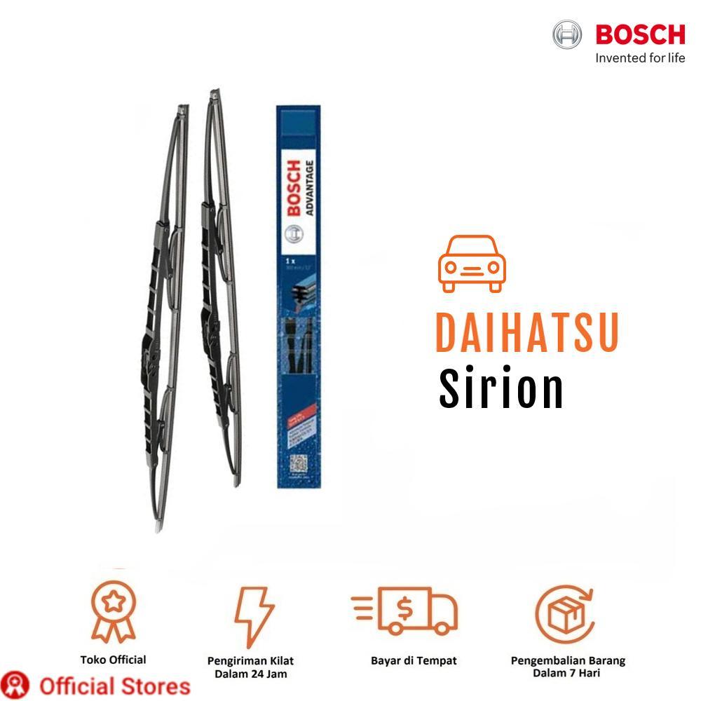 Bosch Sepasang Wiper Kaca Mobil Daihatsu Sirion Advantage 21