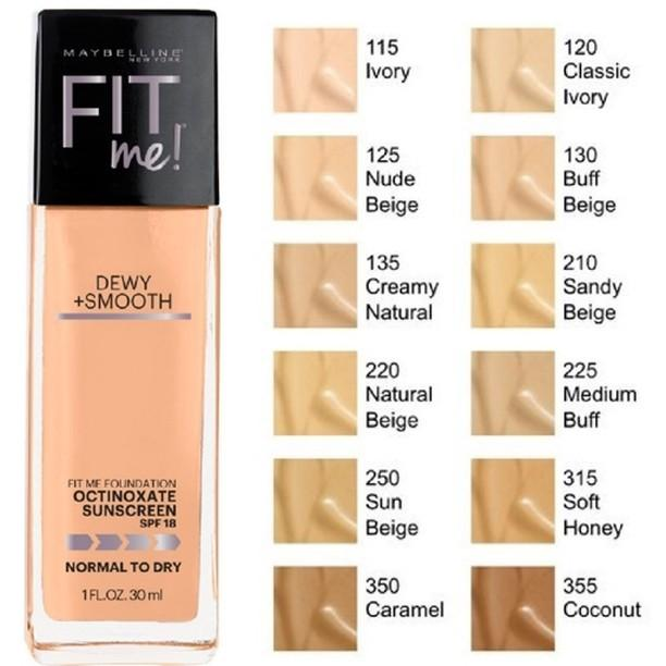 MAYBELLINE FIT ME DEWY + SMOOTH FOUNDATION210 SANG BEIGE