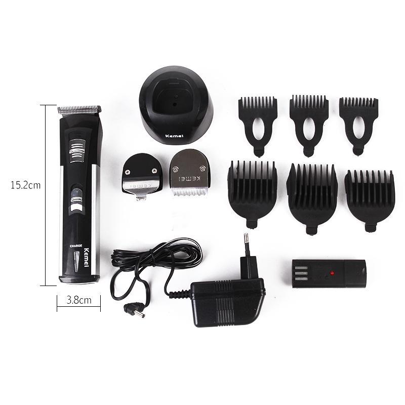 Kemei Profesional Hair Clipper 7 IN 1 KM 3006 Alat Cukur Rambut Kumis  Jenggot Multifungsi cbb86cd509