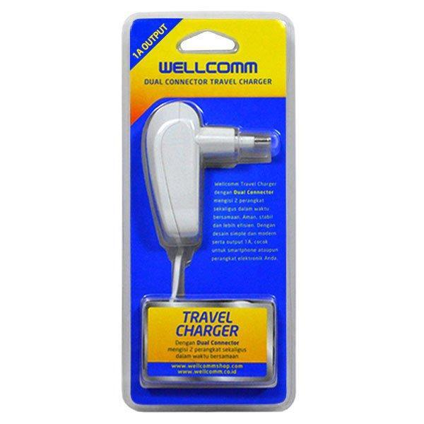 CHARGER USB 1A IPHONE 4 WELLCOMM