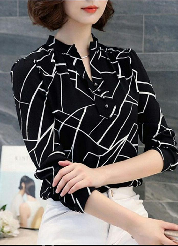 RICARDOF Blouse Wanita Fashion Korea Model Trendy - Ayase