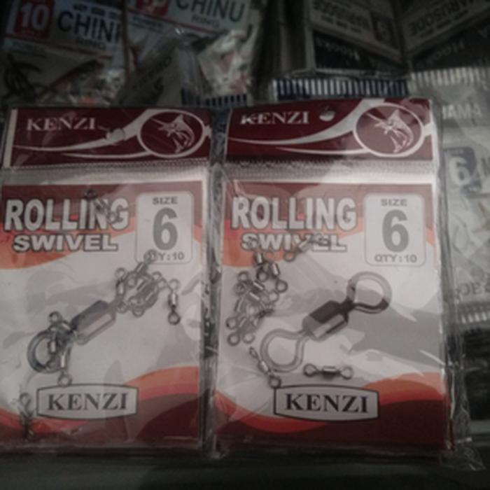 ORIGINAL!!! Rolling Swivel Merk Kenzi - AyW4lS