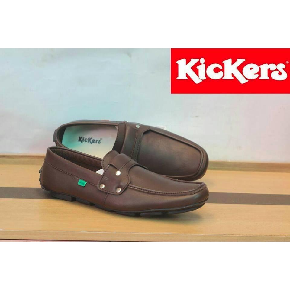 Sepatu Pria Original KicKers Casual ( Sepatu Santai, Sepatu Slop, Sepatu Slip On, Sepatu Gaul, Sepatu Murah, Sepatu Trendy )