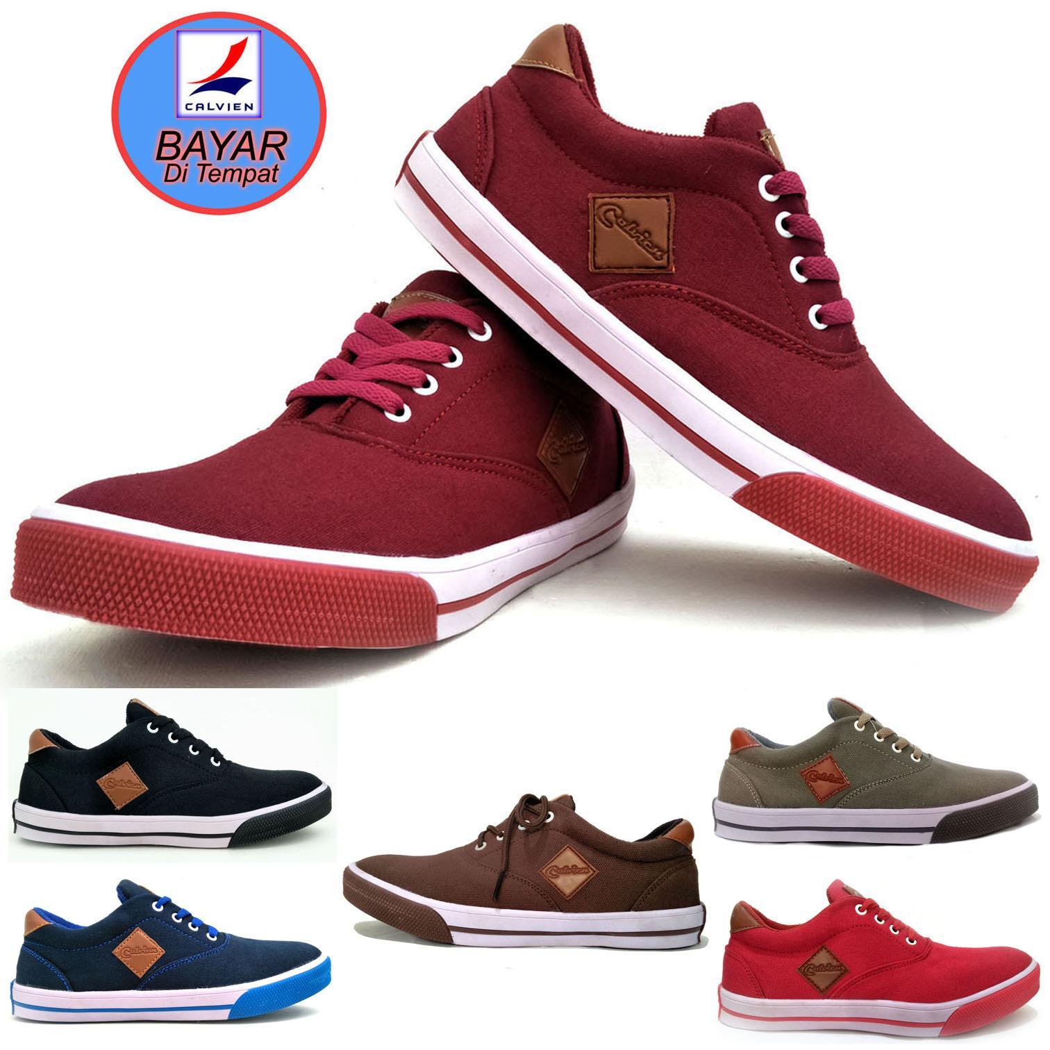 Sepatu Calvien/sepatu/sneakers/sepatu sneakers/sepatu kets/sepatu pria/