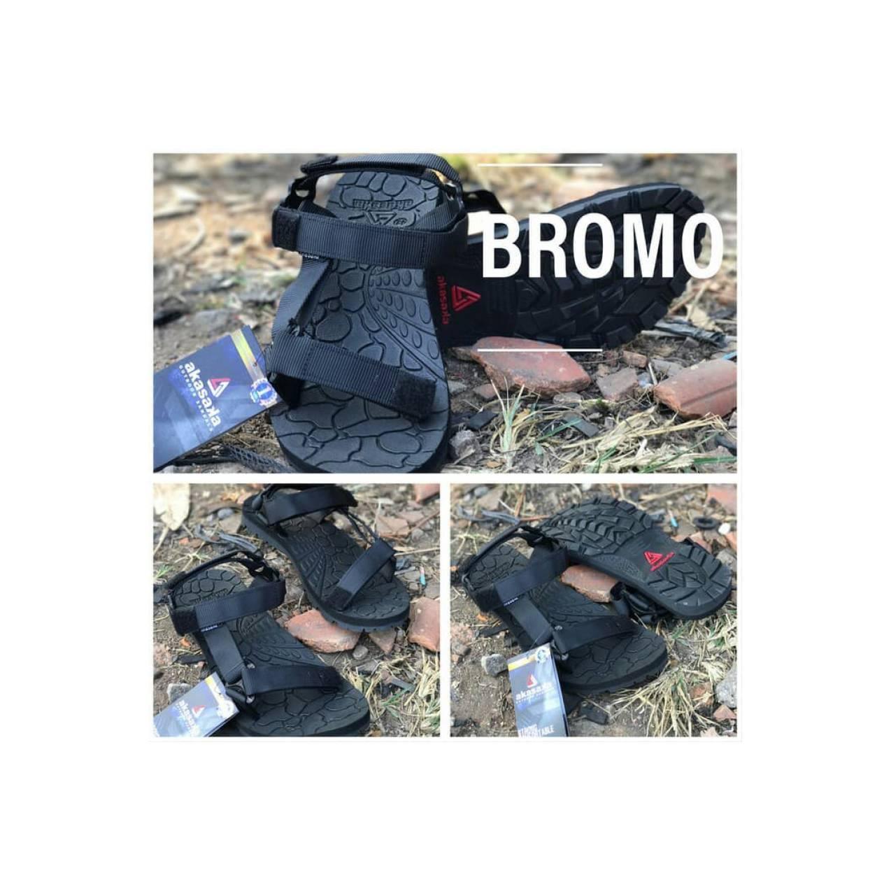 Sandal gunung hitam akasaka bromo not outdoor pro eiger
