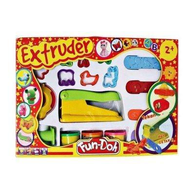 Momo Toys Fun Doh Mainan Lilin Anak Extruder / Fundoh Extruder Warna Isi Random By Momo Baby Shop.