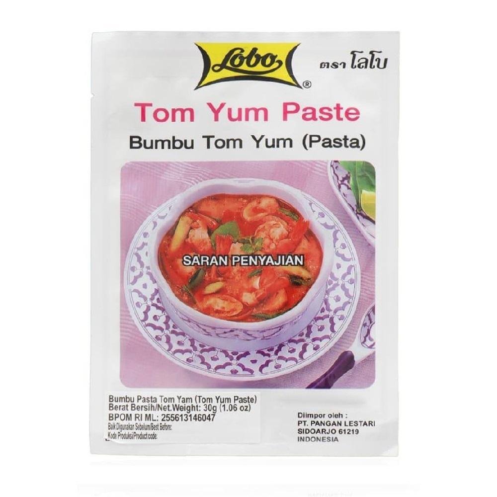 Buy Sell Cheapest Emping Pedas Thailand Best Quality Product Deals Kacang Bawang Daun Jeruk Premium 500 Gram Lobo Tom Yum Paste 30gr Saus Bumbu Tomyum Sauce
