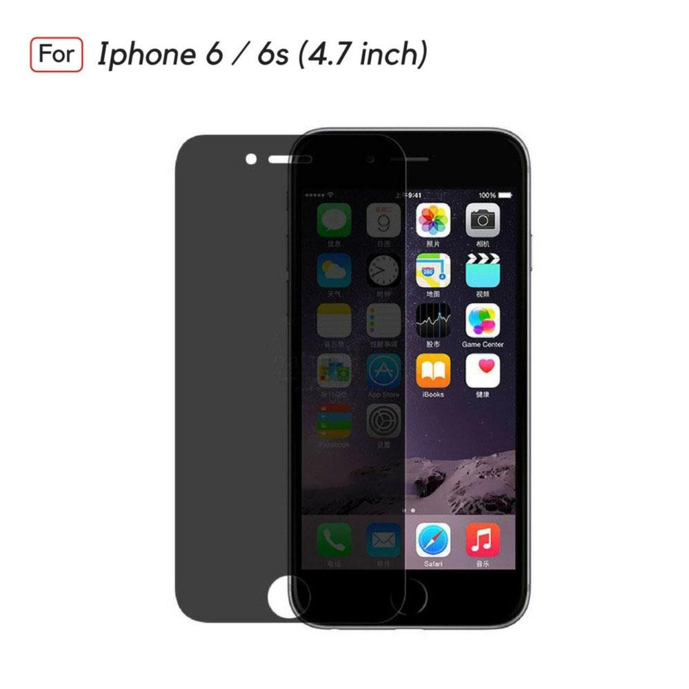 Jak Shop ANTI SPY Assassin Tempered Glass Premium Screen Protector Privacy For Iphone 6 / 6s