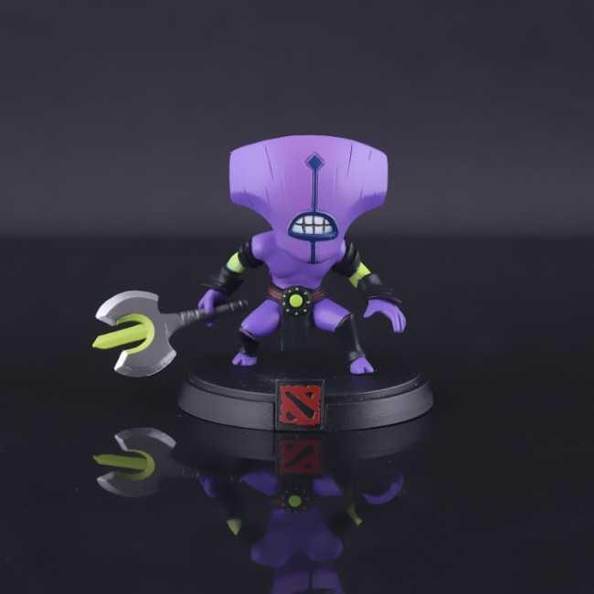 Action Figure Dota 2 Faceless Void Karakter Mainan Game Hobby Pajangan Toys Hero Collection Mainan