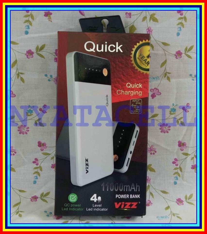 Jual Vizz Powerbank Power Murah Garansi Dan Berkualitas Id Store Bank 6000 Mah Type Vz6000 Navi Single Port Rose Gold 13200mahidr315000 Rp 322500