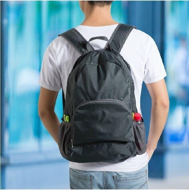 PALING LARIS  Tas Ransel Lipat Backpack Travel Jalan Gunung Olahraga Camping Kemping