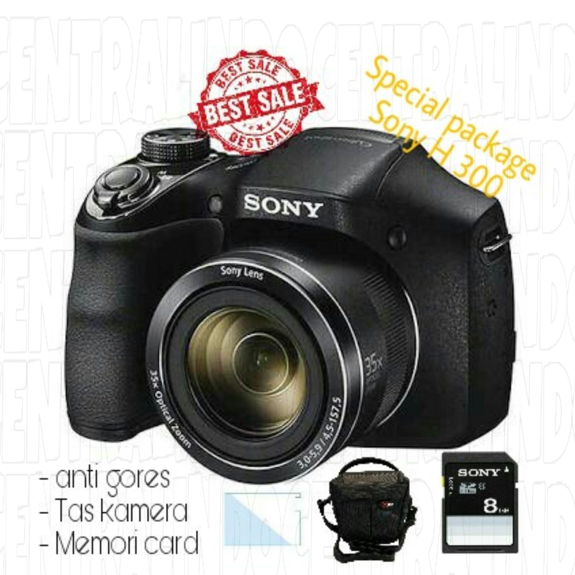 SPECIAL PACKAGE KAMERA SONY H300 WITH ACC