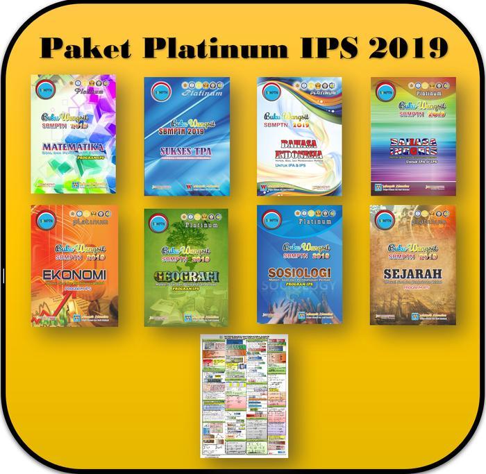 Paket Buku Wangsit Sbmptn 2019 Platinum Ips By Blamosk Shop.