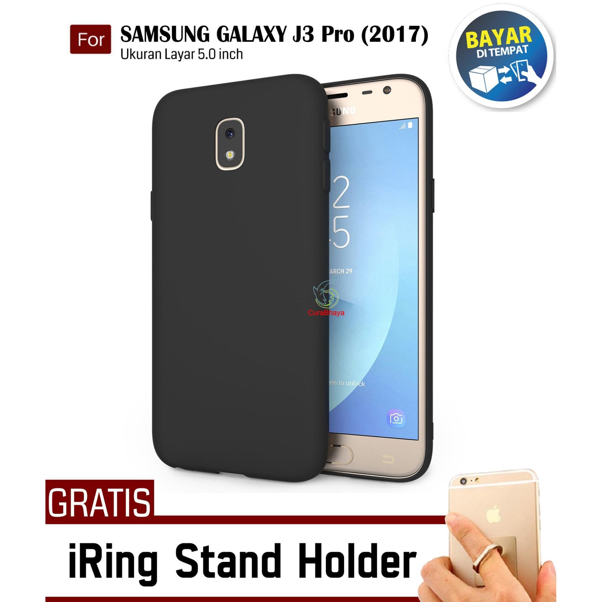 MidNight Samsung Galaxy J3 Pro (2017) / J330 / Duos | Slim Case Black
