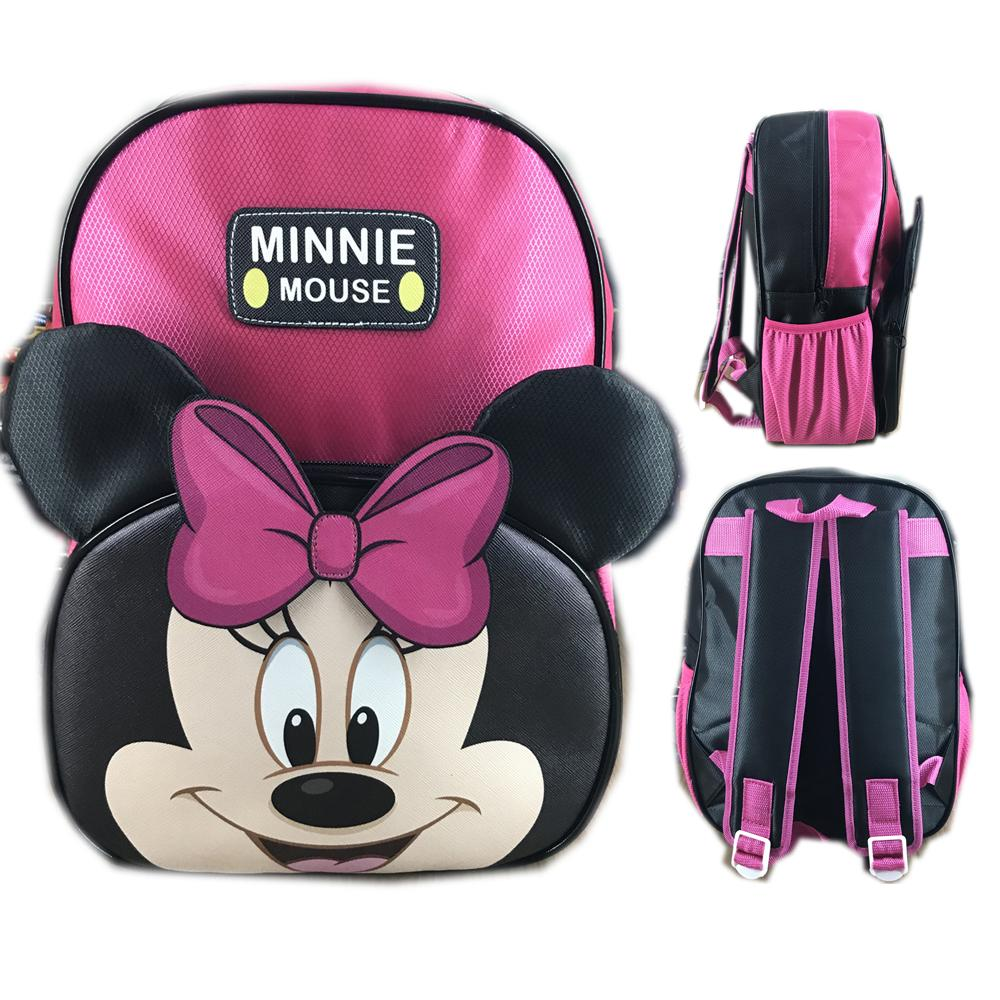 Jual Tas Ransel Anak Terbaik Block Happy Time Bentuk Punggung Sekolah Tk Mickey Minnie Mouse Muka