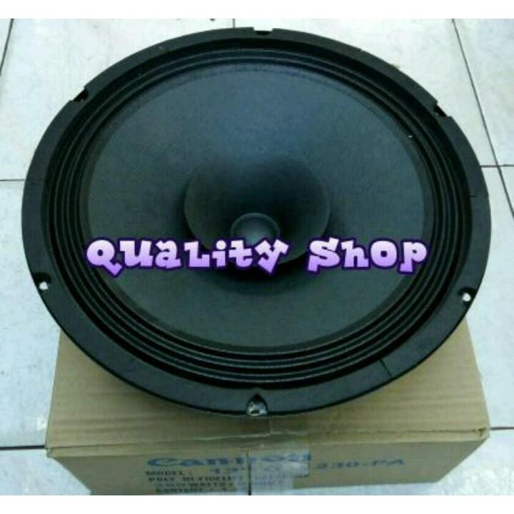 Popularitas Terlaris Dijual Speaker fullrange canon 1230 pa  12 inch   mantap buat vocal dan bass 350 watt Berkualitas