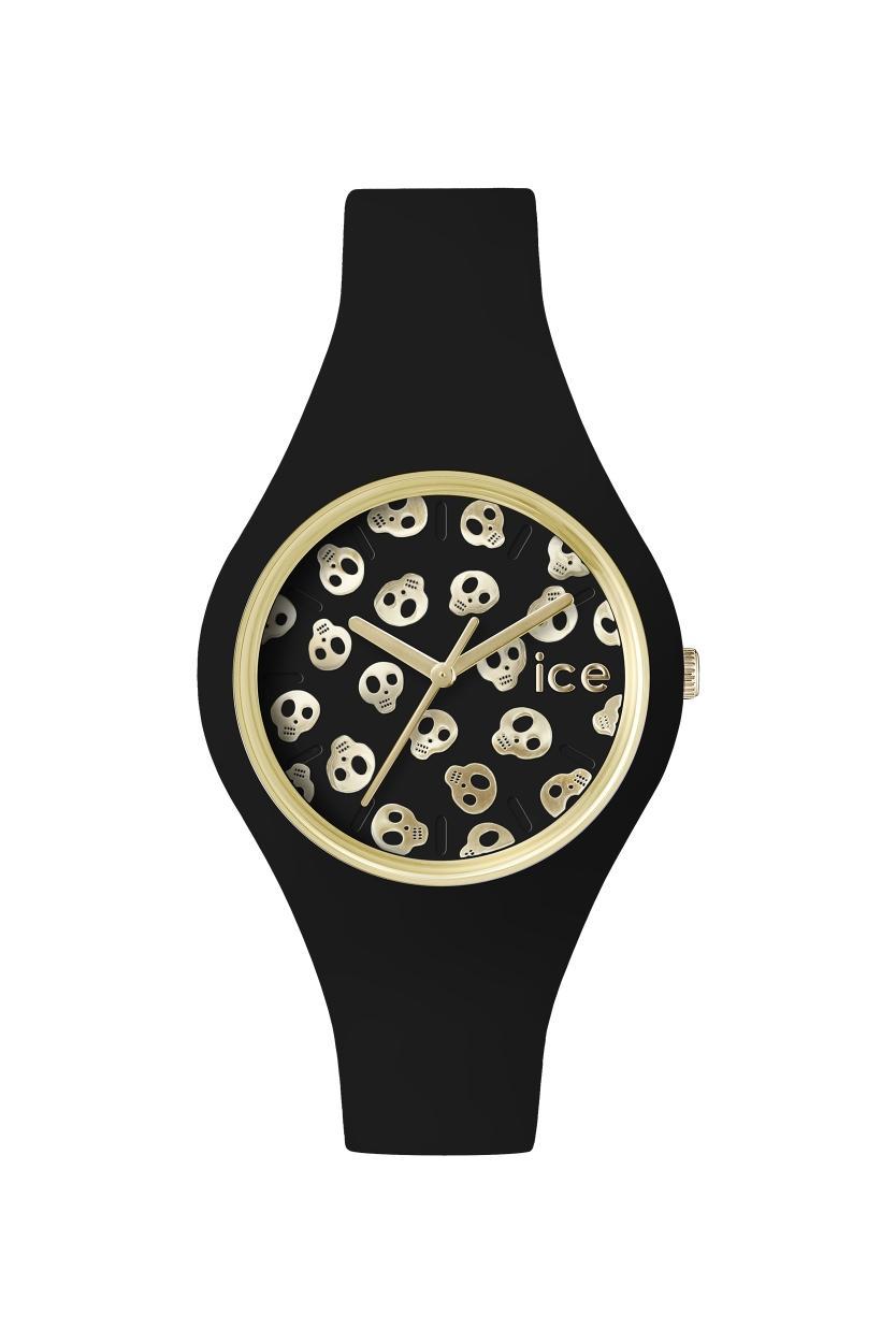 ICE WATCH = ICE.SK.BGD.S.S.15 ICE skull small black gold