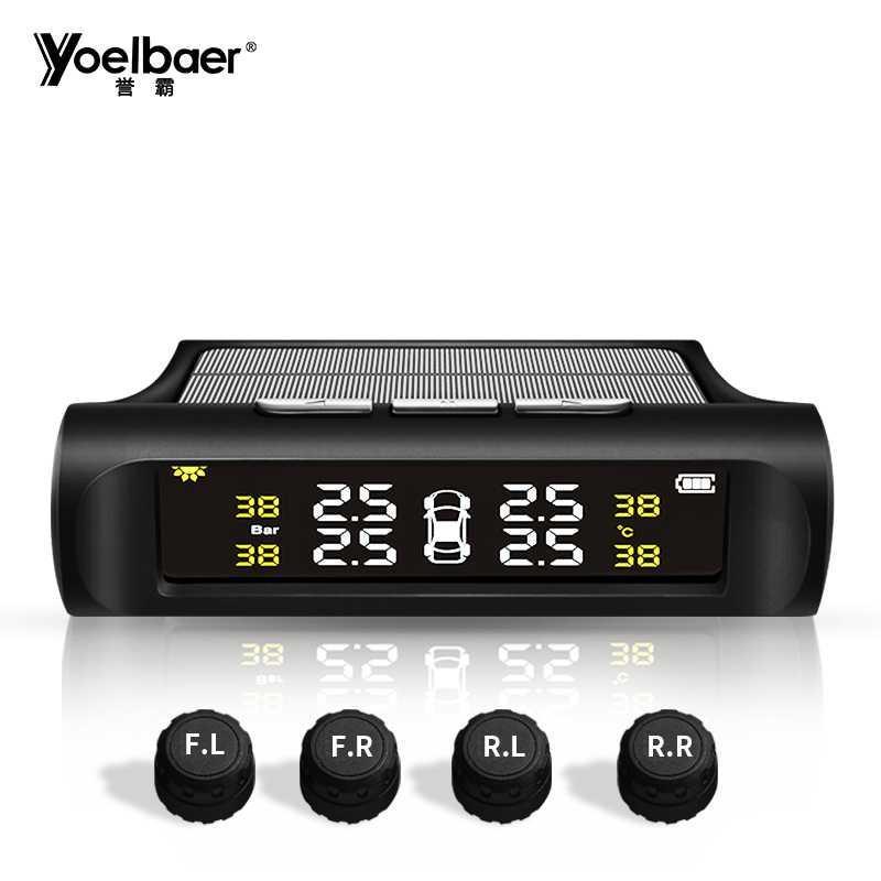 BISA COD Yoelbaer Monitoring Tekanan Ban Mobil TPMS Solar Power - TP880 Tersedia Juga peralatan mobil/ Aksesoris mobil/