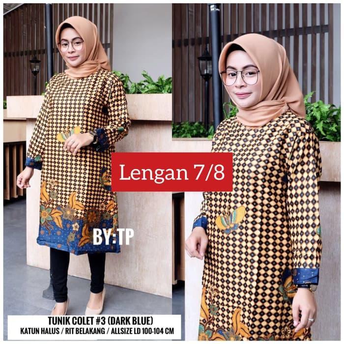 blouse pastel/batik pastel/baju hamil/baju kantor hamil/seragam batik