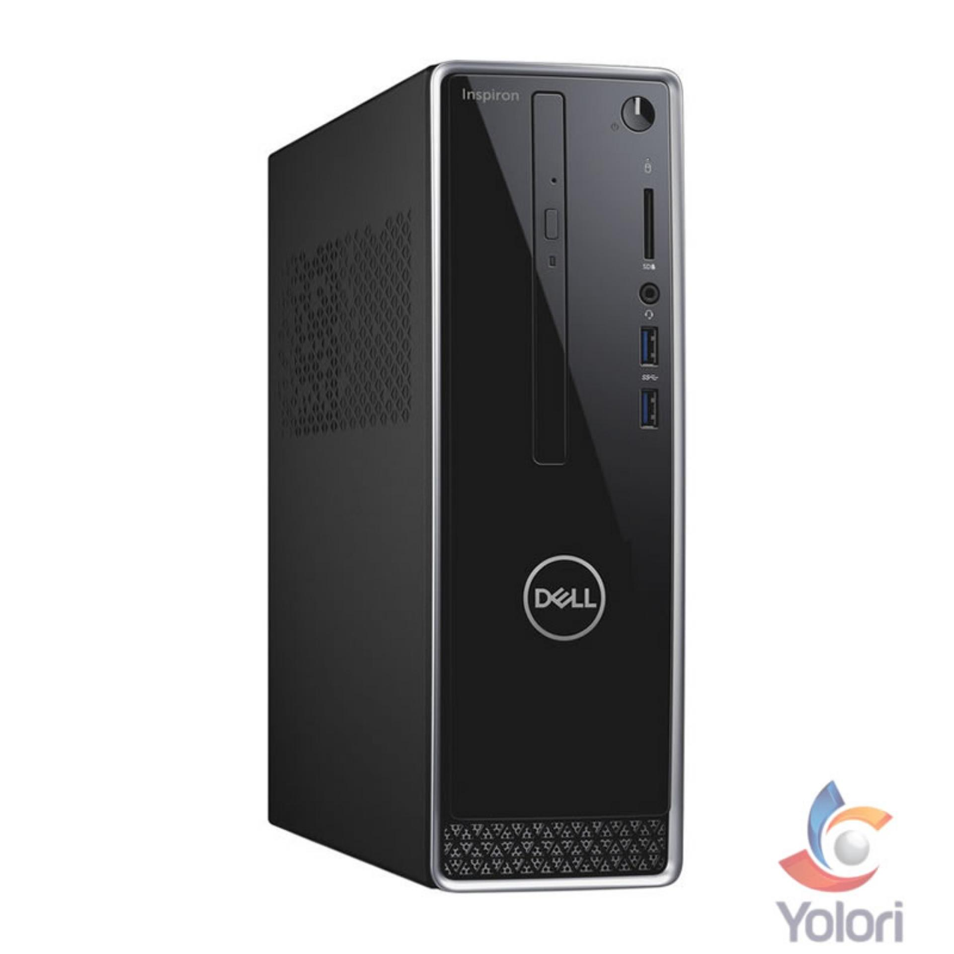 Dell Inspiron 3470 SFF [Ci3-8100, 4GB, 1TB, Intel HD, Windows 10] + Dell Monitor E2016HV