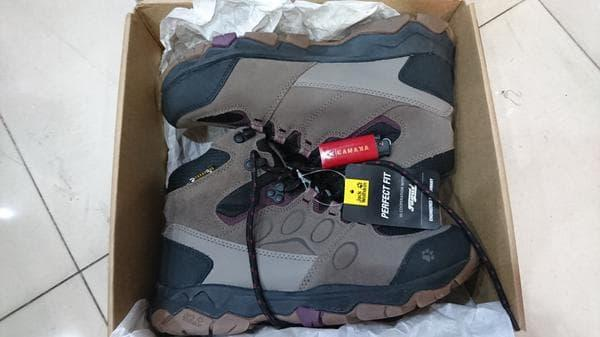 Sepatu Jack Wolfskin Mtn Attack 5 Texapore Mid Hiking Boots Wild Berry
