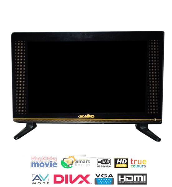 Niko 21 LED TV HD  - Hitam Model 2105G