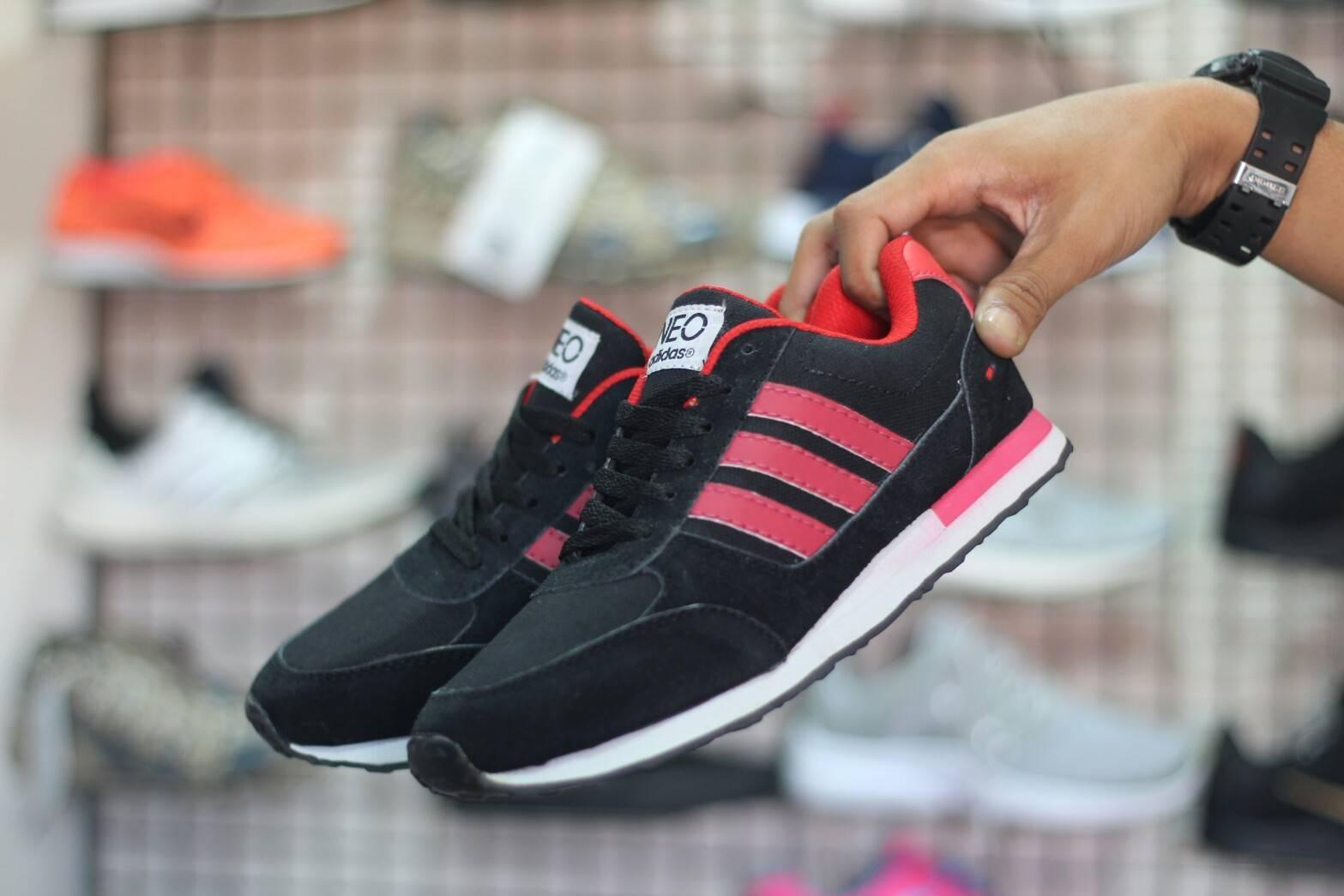Sepatu Sport Pria Adidas NEO Racer Sneakers Olahraga / Running / Sport jogging casual sneakers nike adisdas boots sekolah anak formal kets