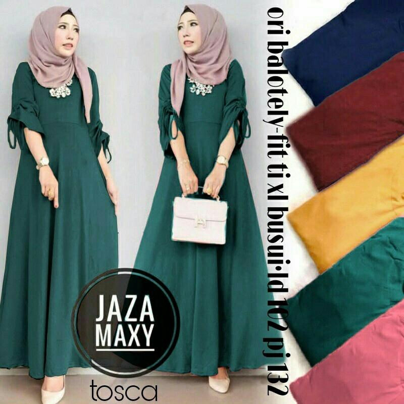 T-OS Pakaian Muslim Wanita Gamis Farah