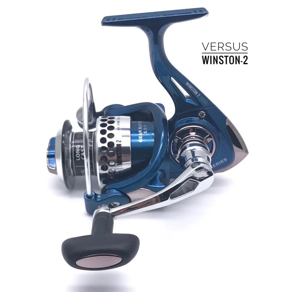 Reel Pancing Fishing Spining Versus SS Winston-2 4000 11+1bb / Ball Bearing