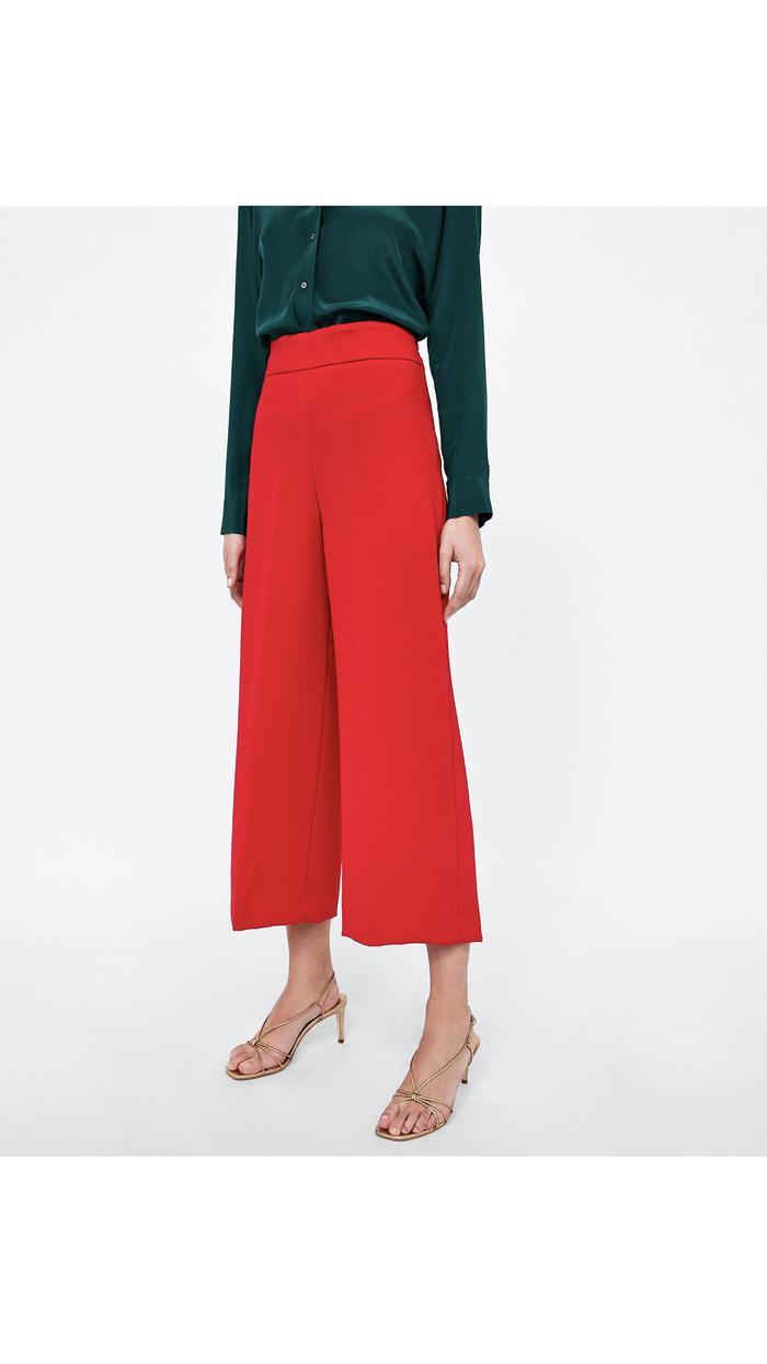 Celana Kulot Zara Woman Original Not Gap Hnm Mango Victoria Secret