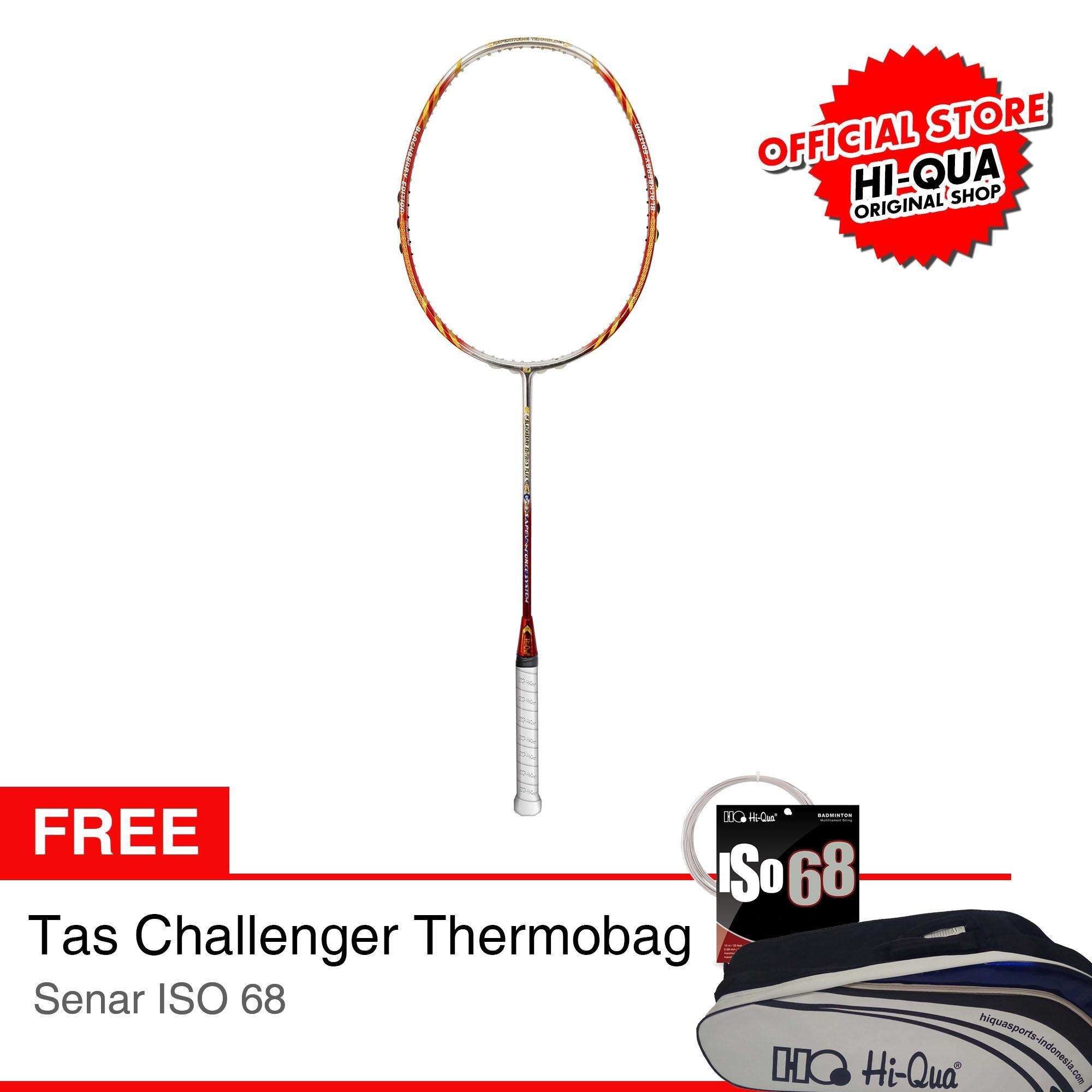 [PAKET LIMITED EDITION] Hi-Qua Raket Bulutangkis / Badminton BB Edition 09 Flex