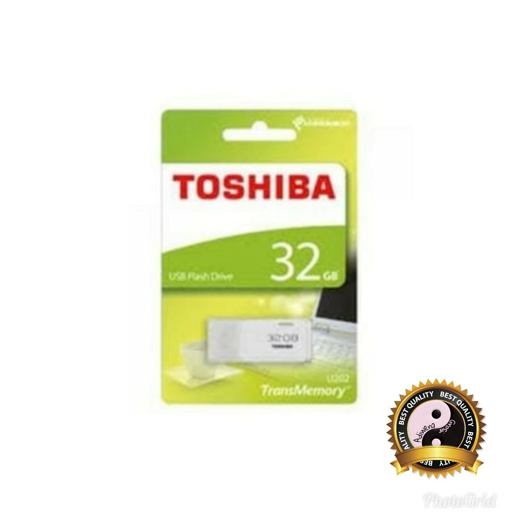 Flash Disk Original / Flashdisk USB Flash Memory Toshiba 64 GB Transmemory 64gb Hitam